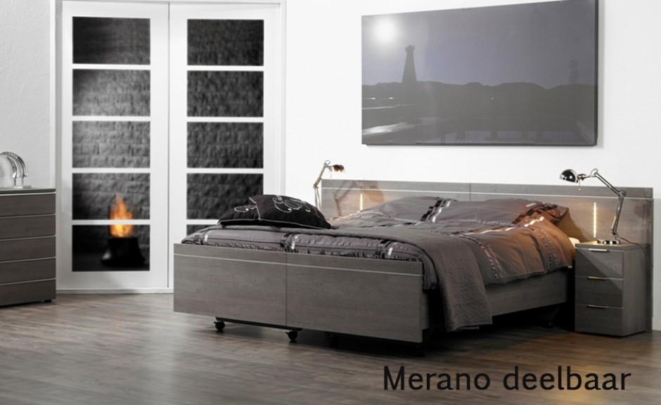 Vroomshoop model Merano deelbaar/uitrijdbaar 2-persoons ledikant