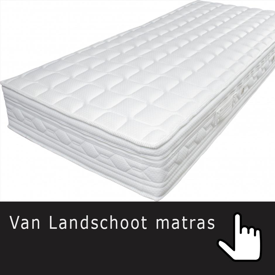 Van Landschoot matras showroomaanbieding