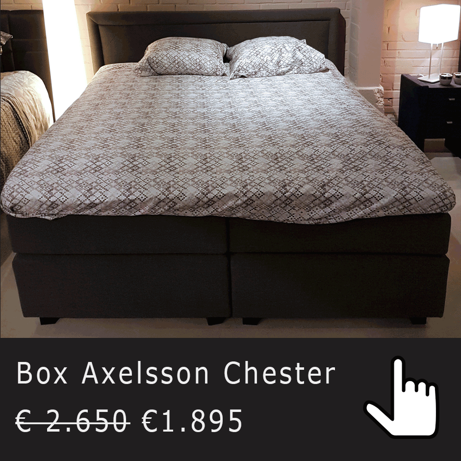 Axelsson Chester  showroomaanbieding