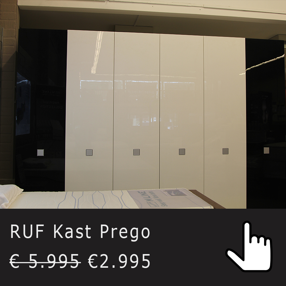showroom RUF kast prego