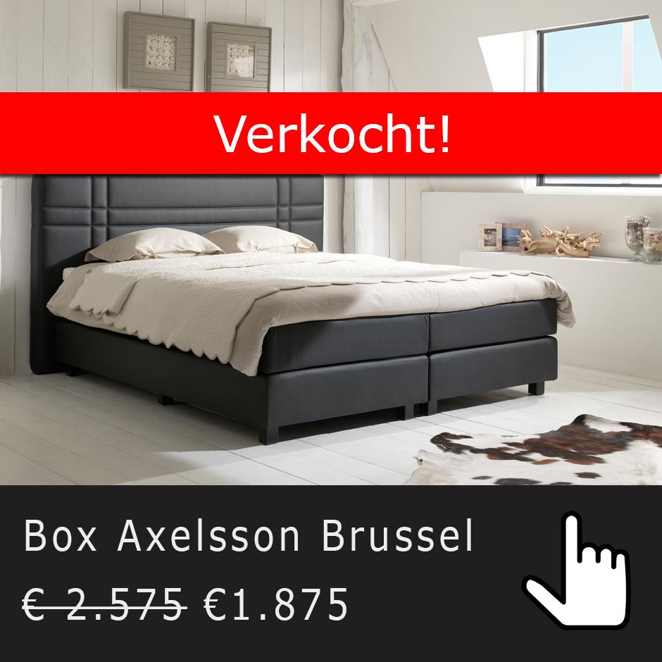Axelsson Brussel  showroomaanbieding