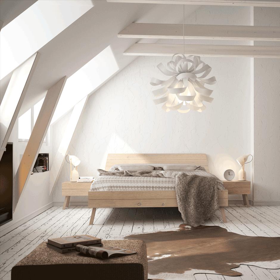 stuga bed