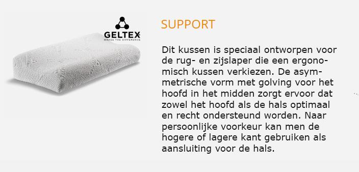 Beka Geltex kussen Support