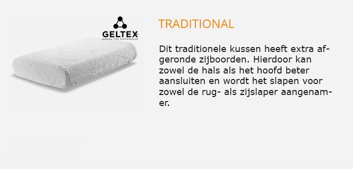 Beka Geltex kussen Traditional