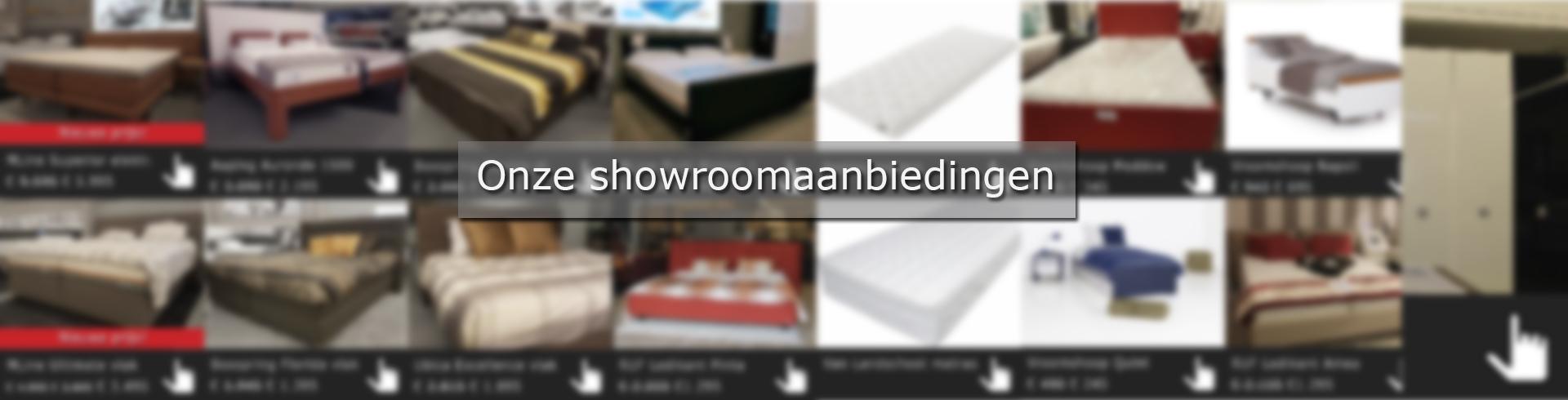 showroom aanbieding