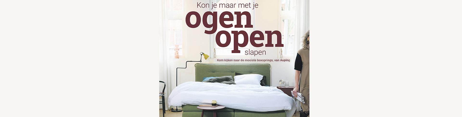 Auping Open Ogen slapen