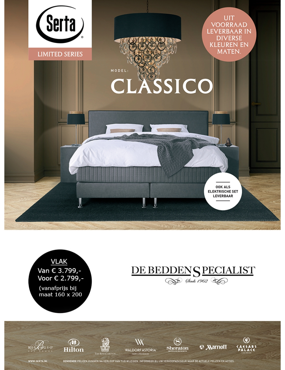 SERTA Leaflet Prijzenoverzicht Limited (210×297).indd