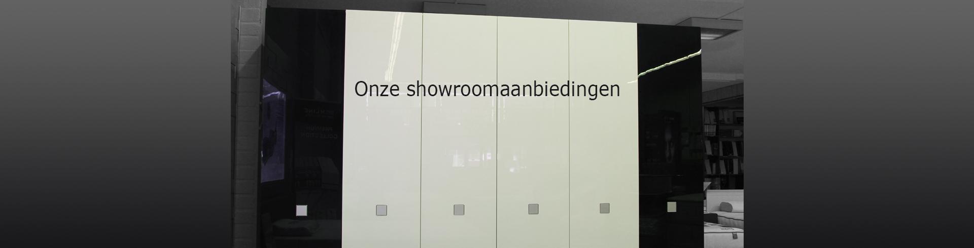 Showroomaanbiedingen