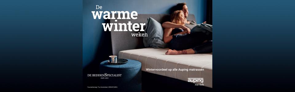 Auping Warme Winter Weken actie 2021