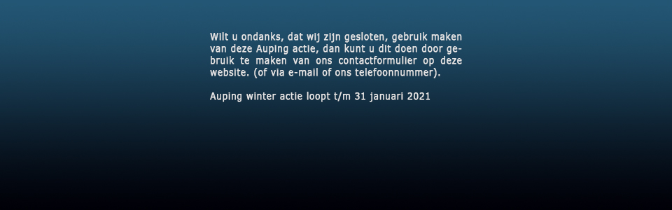 Auping Warme Winter Weken 2021